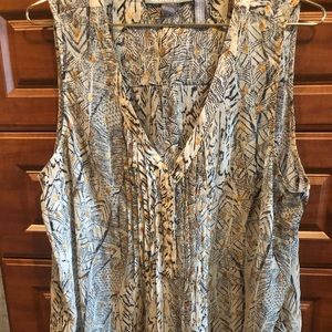 A Pea in rhe Pod Blouse and Cardigan size L